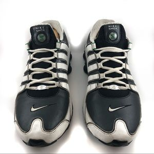 Nike Shox Men's Shoes White/Black/Green US Size 11